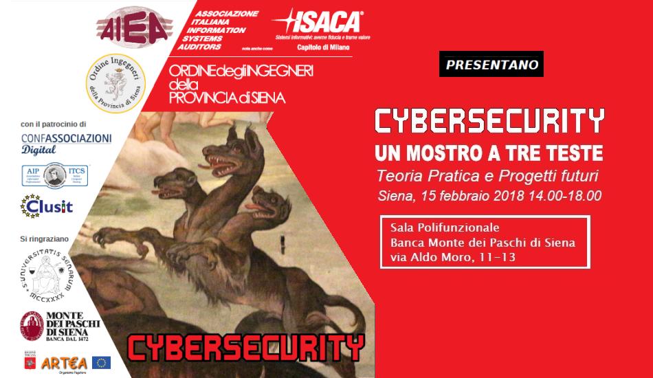 AIEA Cybersecurity Un mostro a tre teste