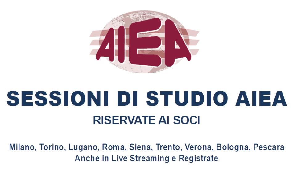 Sessioni di Studio AIEA